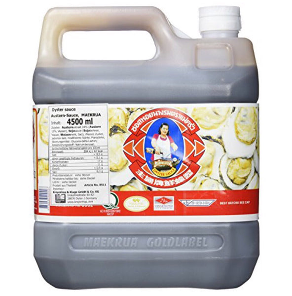 Mae Krua Oyster Sauce 4.5L - Asian Online Superstore UK