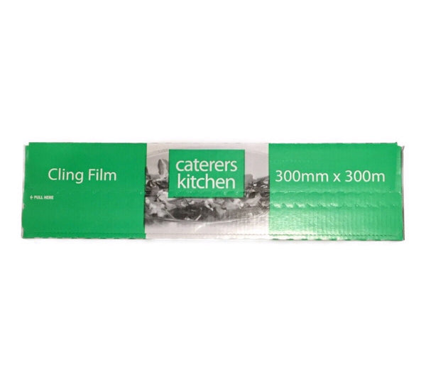 Caterers Kitchen Cling Film (300mm x 300mm)