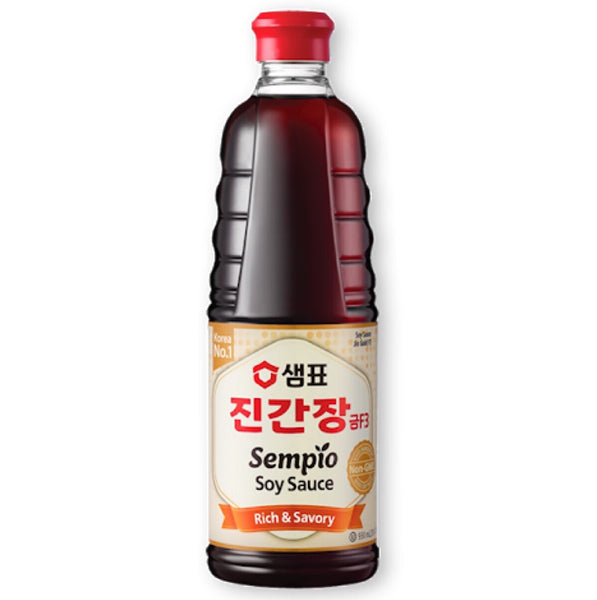Sempio Soy Sauce Jin Gold F3 (Kosher) 500ml - Asian Online Superstore UK