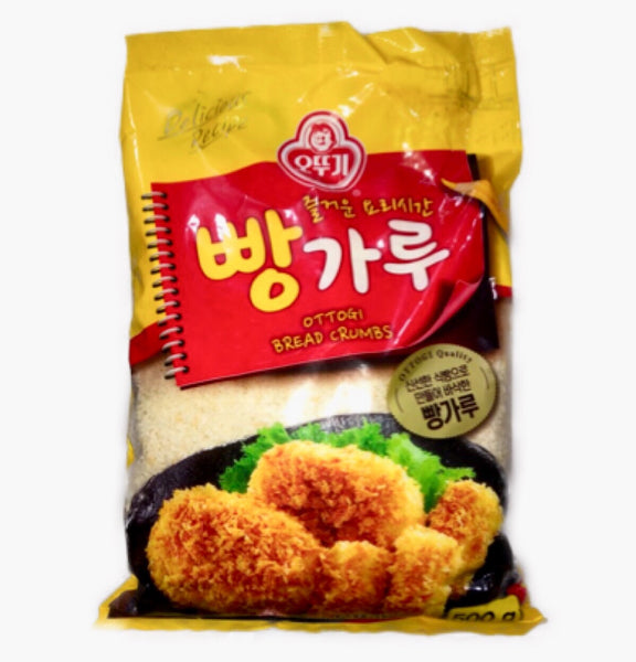 Ottogi Breadcrumbs 6x500g (BB: 20-9-20) - Asian Online Superstore UK