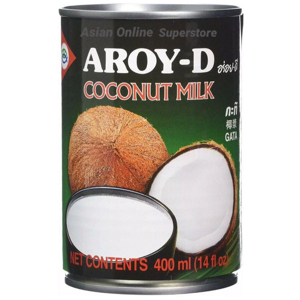 Aroy-D Coconut Milk 400ml - Asian Online Superstore UK