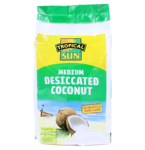 Tropical Sun Desiccated Coconut (Medium) 1kg - Asian Online Superstore UK