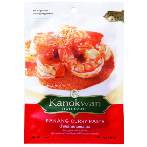 Kanokwan Panang Curry Paste 50g - Asian Online Superstore UK