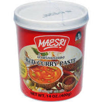 Mae Sri Red Curry Paste 400g - Asian Online Superstore UK