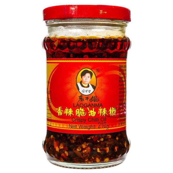 Lao Gan Ma Crispy Chilli in Oil 24x210g - Asian Online Superstore UK