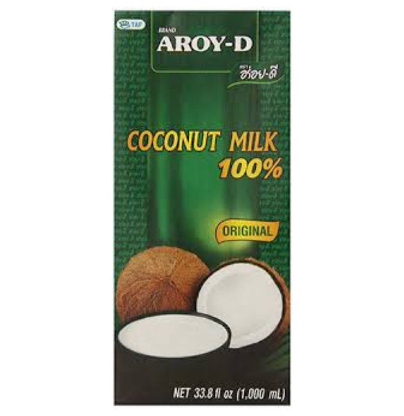 Aroy-D UHT Coconut Milk 1L - Asian Online Superstore UK