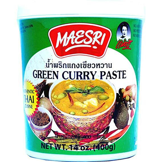Mae Sri Green Curry Paste 400g - Asian Online Superstore UK
