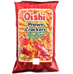 Oishi Prawn Crackers Spicy Flavour 60g - Asian Online Superstore UK