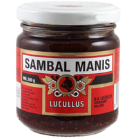 Lucullus Sambal Manis (Sweet Chilli Sauce) 200g - Asian Online Superstore UK