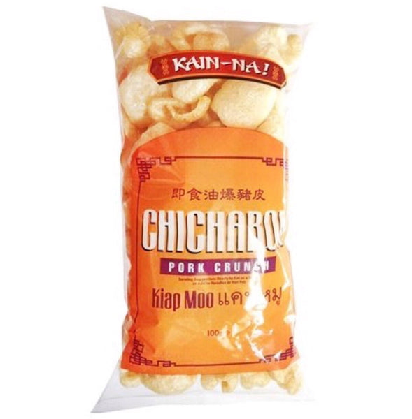 Kain-Na Chicharon (Kiap Mao/Pork Crunch) 100g - Asian Online Superstore UK