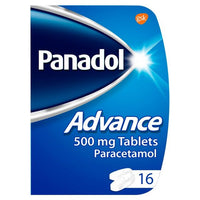 Panadol Advance 16 Tablet 500mg - Asian Online Superstore UK