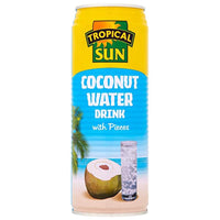Tropical Sun Coconut Water with Pieces 520ml - Asian Online Superstore UK