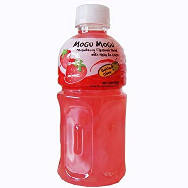 Mogu Mogu Nata De Coco Strawberry Flavour 320ml - Asian Online Superstore UK