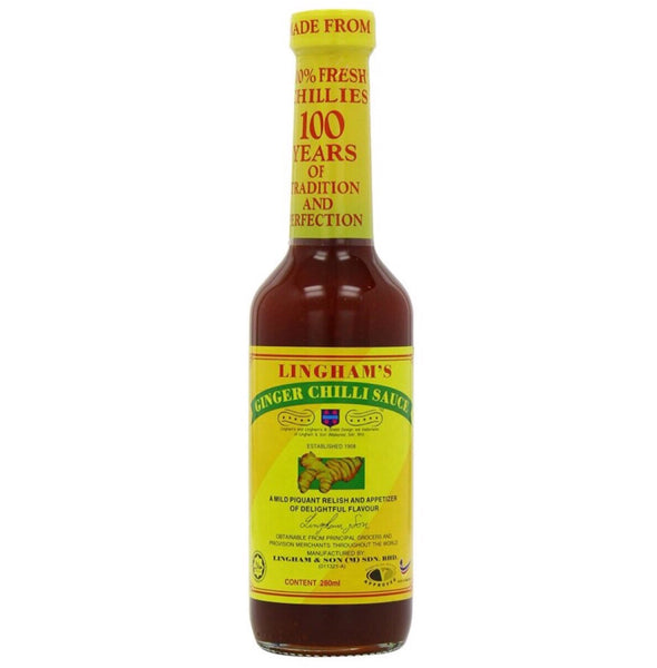 Lingham's Ginger Chilli Sauce 280ml - Asian Online Superstore UK