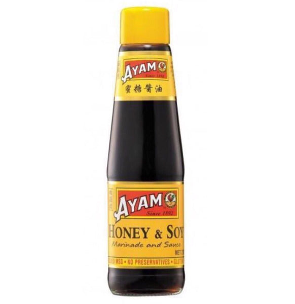 Ayam Honey Soy Sauce & Marinade 210ml - Asian Online Superstore UK