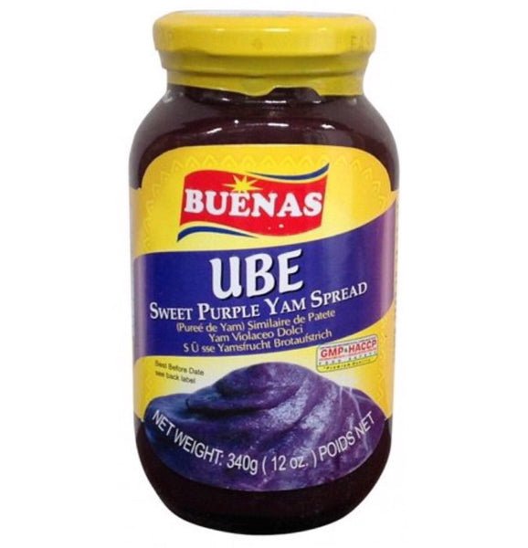 Buenas Ube (Purple Yam Spread) 340g - Asian Online Superstore UK
