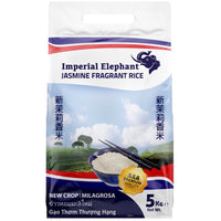 Imperial Elephant Jasmine Milagrosa Rice AAA Premium Quality 5kg - Asian Online Superstore UK