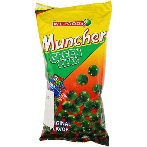 W.L Muncher Green Peas Snack 70g - Asian Online Superstore UK
