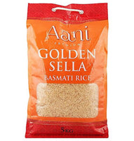 Aani Golden Sella Basmati Rice 5kg - Asian Online Superstore UK
