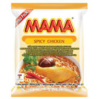 Mama Spicy Chicken Noodle (Jumbo Pack) 90g - Asian Online Superstore UK