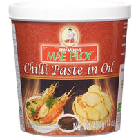 Mae Ploy Chilli Paste in Oil 400g - Asian Online Superstore UK