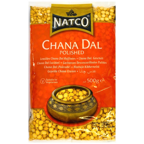 Natco Chana Dal Polished 500g