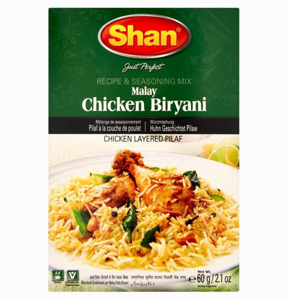 Shan Malay Chicken Biryani 60g - Asian Online Superstore UK