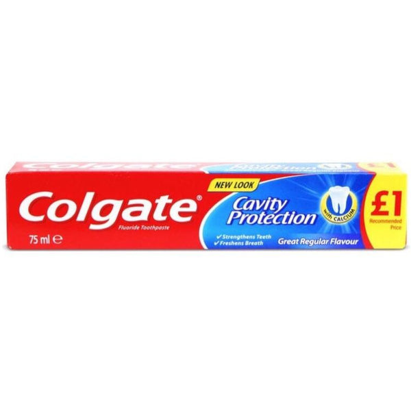 Colgate Cavity Protection Tooth Paste 75ml - Asian Online Superstore UK