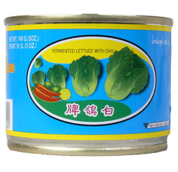 Pigeon Fermented Lettuce with Chilli (Mustard Green) 230g - Asian Online Superstore UK
