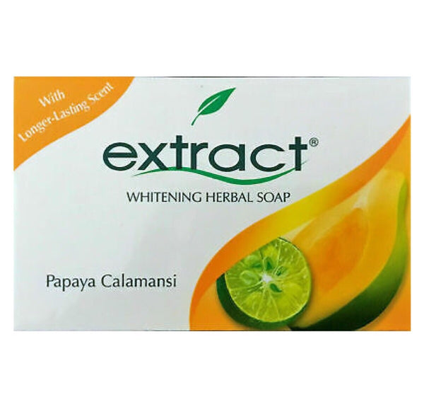Extract Papaya Calamansi Whitening Herbal Soap 125g - Asian Online Superstore UK