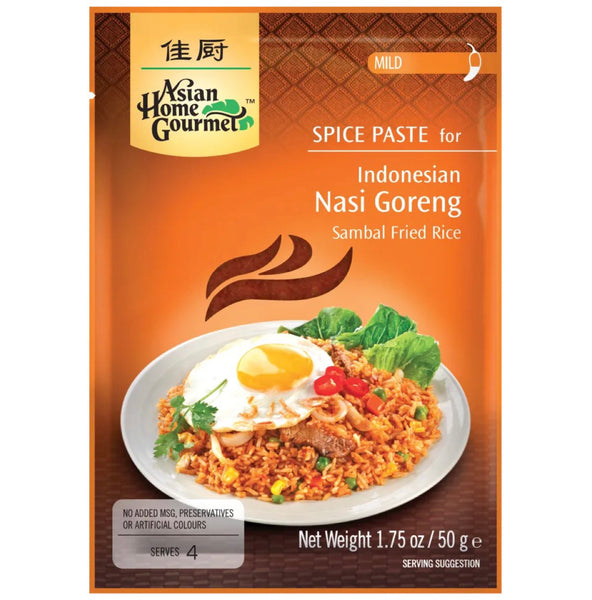 Asian Home Gourmet Spice Paste for Indonesian Nasi Goreng (Sambal Fried Rice) 50g