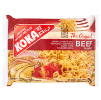 Koka Beef Flavour Instant Noodles 85g - Asian Online Superstore UK