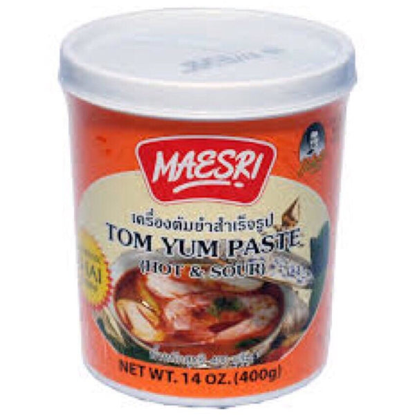 Mae Sri Hot & Sour Tom Yum Paste 400g - Asian Online Superstore UK