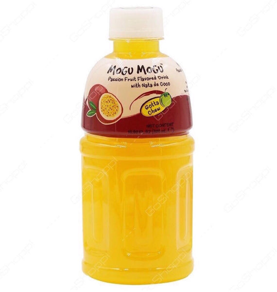 Mogu Mogu Nata De Coco Mango Flavour 320ml - Asian Online Superstore UK