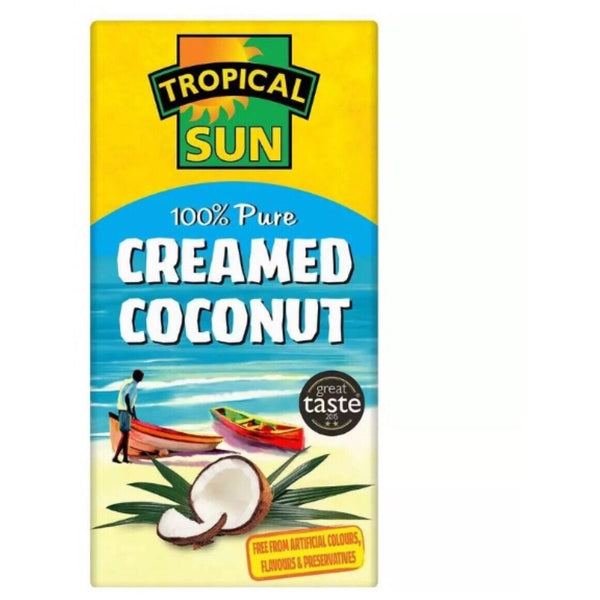 Tropical Sun Creamed Coconut 200g - Asian Online Superstore UK