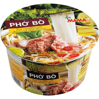 MAMA Vietnamese PHO BO (Beef Rice Noodles Bowl) 65G - Asian Online Superstore UK