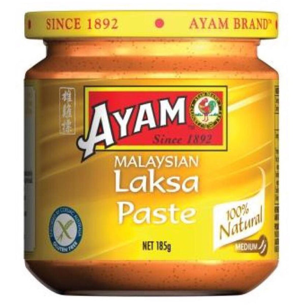 Ayam Laksa Curry Paste 185g - Asian Online Superstore UK