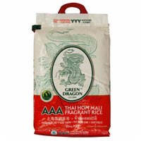 Green Dragon Thai Fragrant Rice AAA (New Packaging) 5kg - Asian Online Superstore UK
