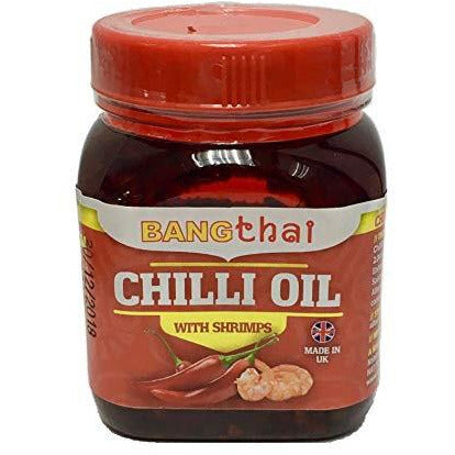 Bang Thai Chilli Oil with Shrimp 180g - Asian Online Superstore UK
