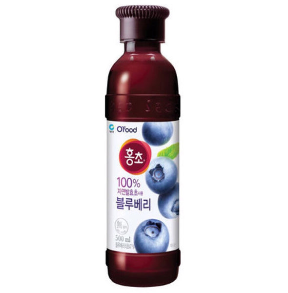 Chung Jung One Blueberry Vinegar Drink (Hong Cho) 500ml - Asian Online Superstore UK