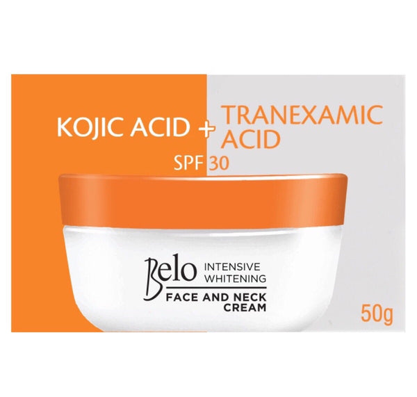 Belo Kojic Acid & Tranexamic Acid Lightening & Brightening Face & Neck Cream 50g
