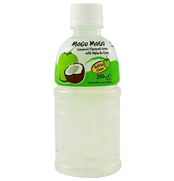 Mogu Mogu Nata De Coco Coconut Flavor 320ml - Asian Online Superstore UK