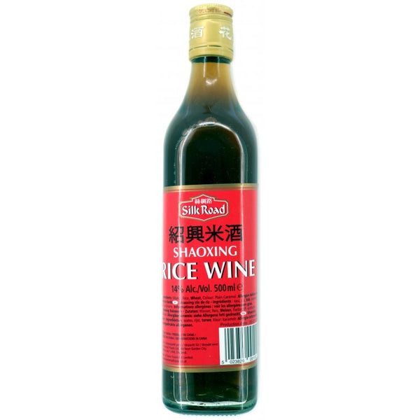 Silk Road Shaoxing Rice Cooking Wine 500ml - Asian Online Superstore UK