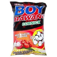 Boy Bawang Cornick Hot Garlic 100g - Asian Online Superstore UK