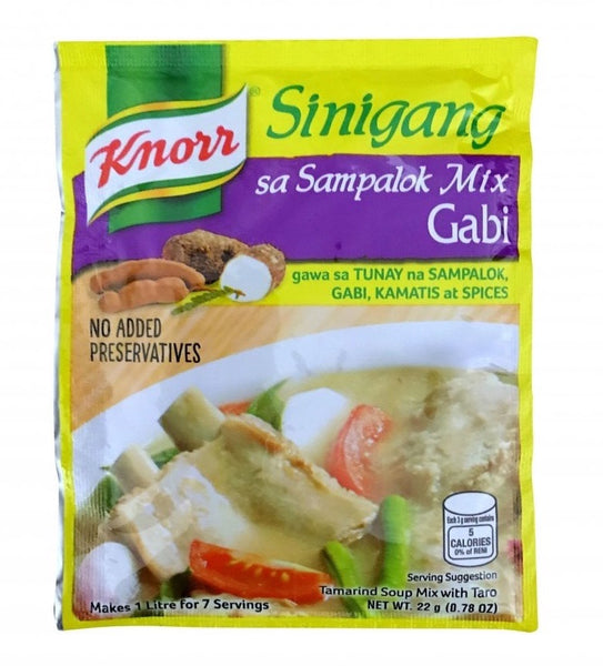 Knorr Sinigang na may Gabi Mix (Tamarind Soup Base with Taro) 22g - Asian Online Superstore UK