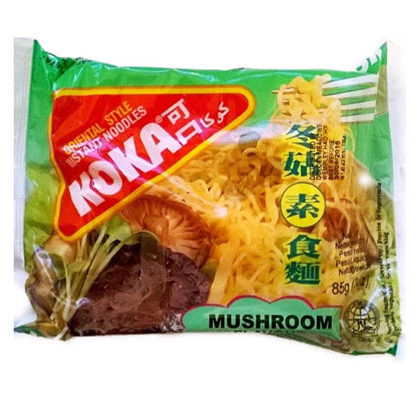 Koka Mushroom Instant Noodles 85g - Asian Online Superstore UK