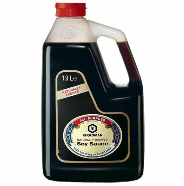 Kikkoman Soy Sauce 1.9L - Asian Online Superstore UK