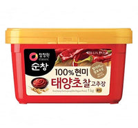 Chung Jung One Gochujang Brown Rice Red Pepper Paste (Square) 1kg - Asian Online Superstore UK