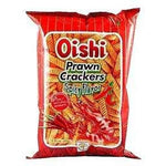 Oishi Prawn Crackers Spicy Flavour 50x60g - Asian Online Superstore UK