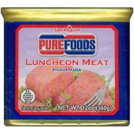 Pure Foods Pork Luncheon Meat 340g - Asian Online Superstore UK